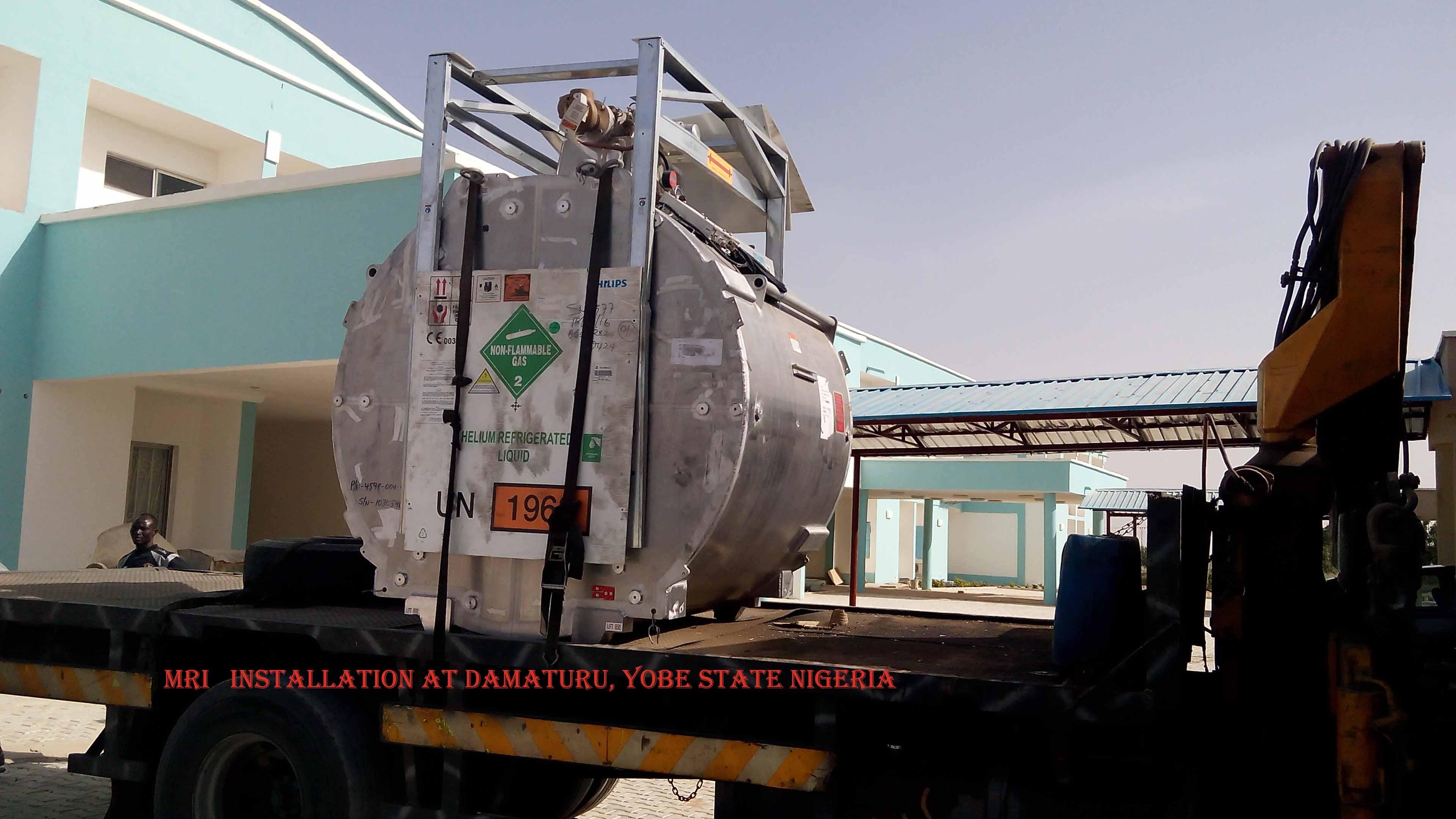 Complete Installation of MRI 1 5T Carl Novel@Damaturu, Yobe State
