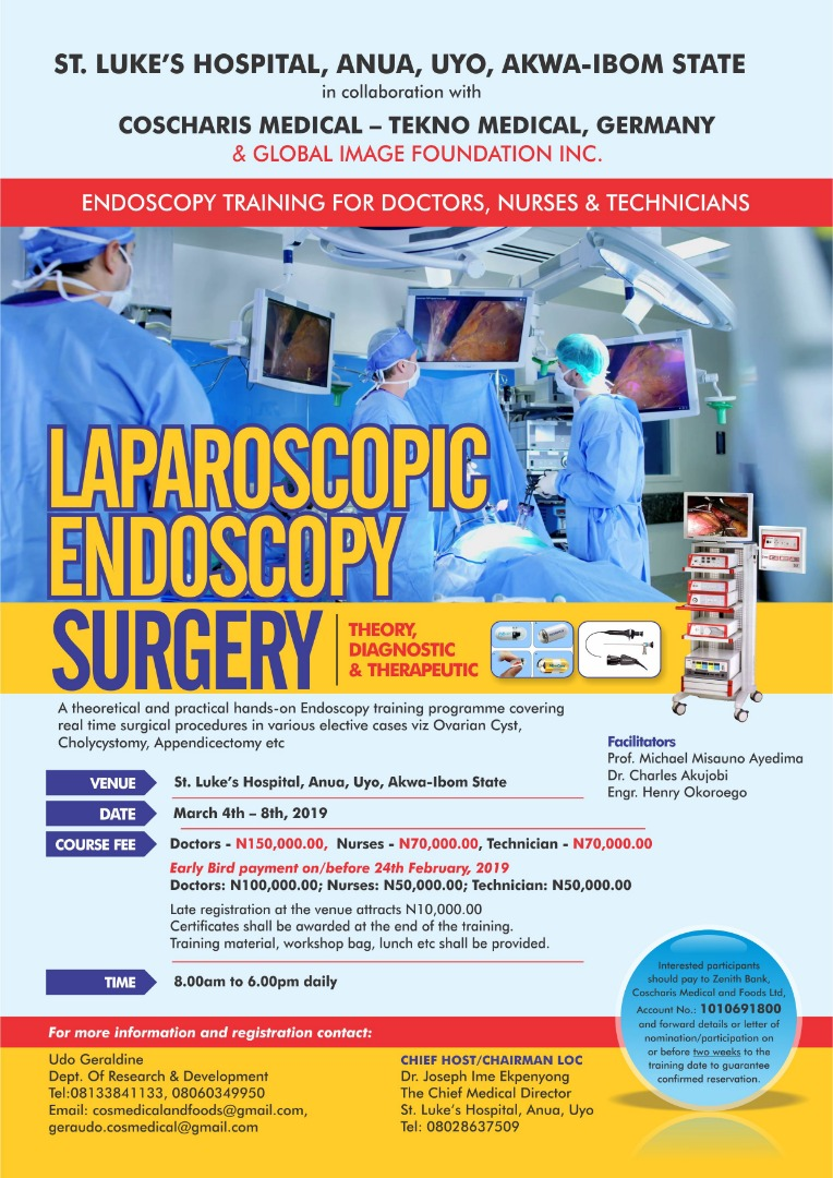 Endoscopy Training For Doctors Nurses Live Surgery Included March 2019
